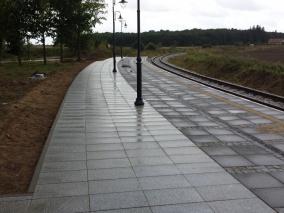 Rewitalizacja zabytkowej linii nadmorskiej koleii wąskotorowej w gminie Rewal